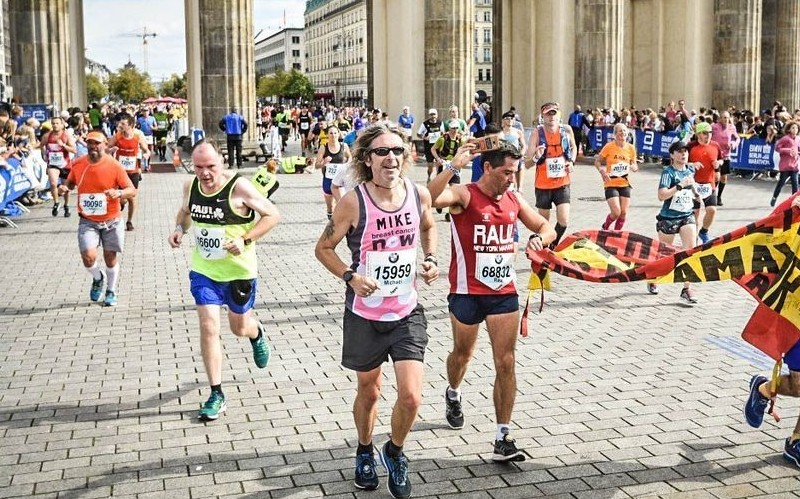The Berlin Marathon by Mike Daniels